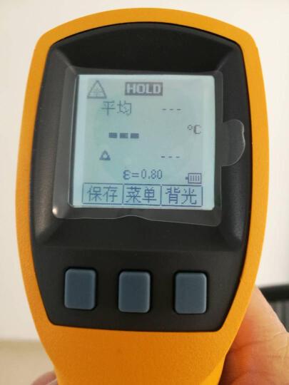 福禄克(FLUKE)测温仪 红外线测温枪 手持激光红外工业温度计 F572-2 晒单图