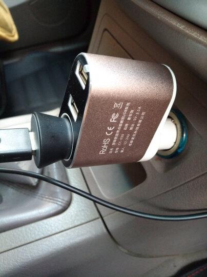 麦车饰 汽车用品车内饰品车上用品超市车载装饰 CC-030 智能数显-金色 车载充电器 晒单图