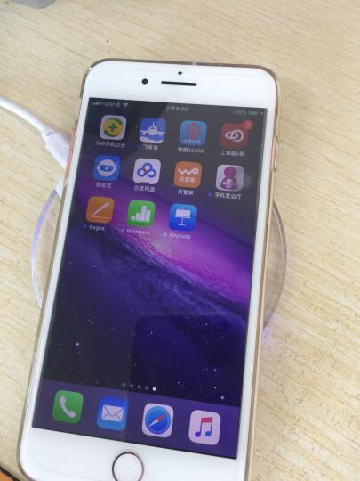 Coiorvis 手机无线充电器 适用iPhoneX/8/7/6s/plus/苹果安卓通用 黑色底座+安卓反向接口 晒单图