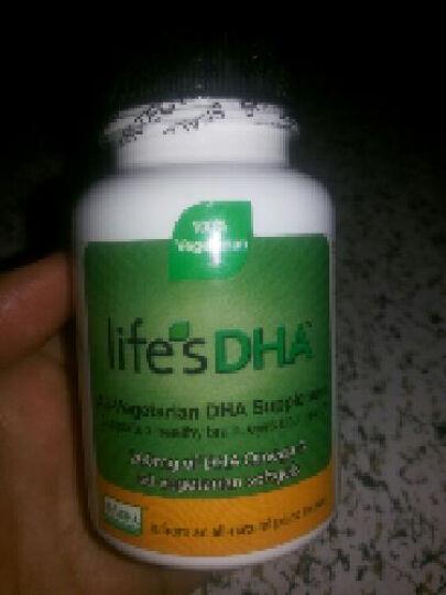 Life's DHA Martek马泰克 孕妇dha海藻油 孕期产后哺乳期可用 60粒 3瓶 晒单图