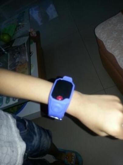 和孩子(ANDKIDS) 中国移动和孩子1代儿童智能手表学生老人防走失防丢手环GPS定位手机语音 蓝色-送1年流量卡 晒单图