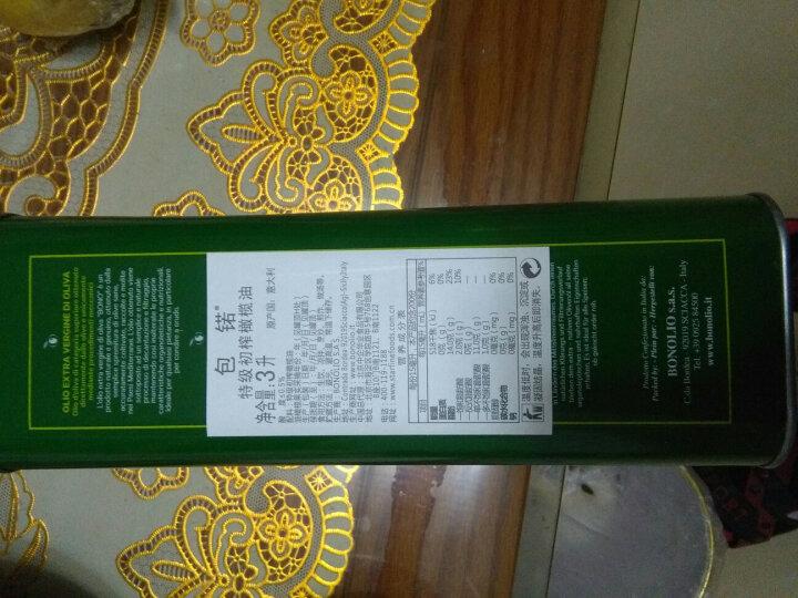 意大利 包锘(BONO)特级初榨橄榄油 原装进口食用油 500ml*2瓶 健康礼盒 晒单图