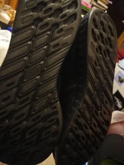 SKECHERS 斯凯奇GO WALK 3男款休闲健步鞋 舒适轻便豆豆鞋男54045 灰色+C/GRY 42.5 晒单图