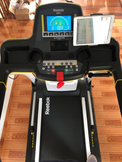 锐步Reebok跑步机 智能家用静音折叠运动健身器材 【豪华旗舰版A6】50cm大跑带智能蓝牙 送货安装 晒单图