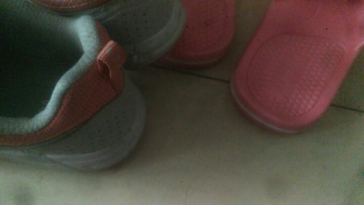 鸿星尔克(ERKE)儿童运动鞋 男童拼色跑步鞋炫彩透气学生跑鞋 63117114071 彩蓝/酸橙绿 36 晒单图