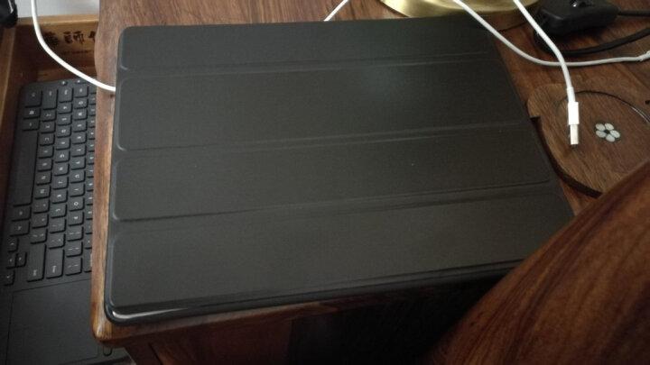 饰盾苹果2018新ipad散热保护套mini5/2/3/4支架皮套air/pro10.2全包防摔外壳  黑色 老款ipad 2/3/4 9.7英寸 晒单图