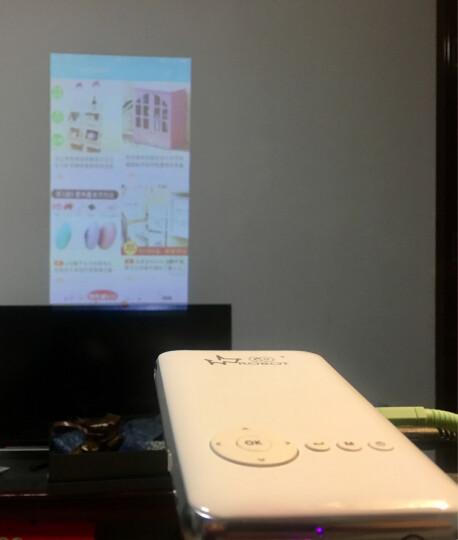 Robot GO M6S微型投影仪家用迷你全高清苹果安卓手机电脑无线WIFI同屏1080P便携投影机 8G硬盘-梯形校正-HDMI输出 M6S  32G 梯形校正+HDMI输入 晒单图