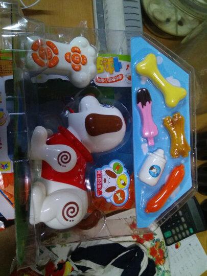 KO SHENG智能玩具狗 电动儿童早教益智玩具 宝宝遥控智能机器狗唱歌跳舞斑斑狗 可可狗(非遥控版) 晒单图