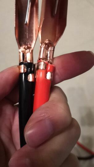 优驰 汽车电瓶线搭火线 过江龙鳄鱼夹子 电池连接线 搭铁打火线搭电线 3米-电瓶搭火线(500A) 晒单图
