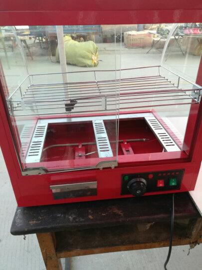 保温柜商用食品台式展示柜家用熟食汉堡蛋挞保温箱 大型三层 晒单图