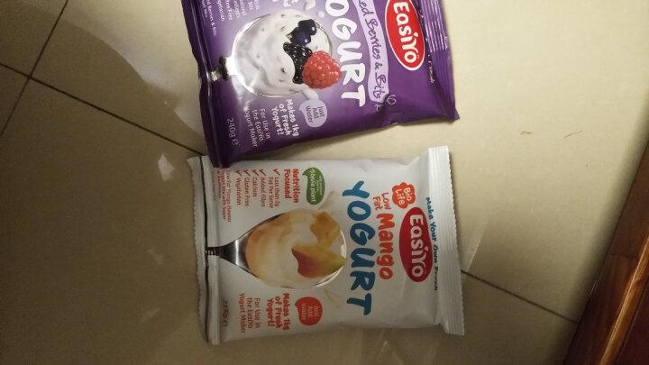 易极优(Easiyo)酸奶粉蔓越莓含果粒240g 新西兰原装进口含满满活的益生菌 简单三步可做1L酸奶 晒单图