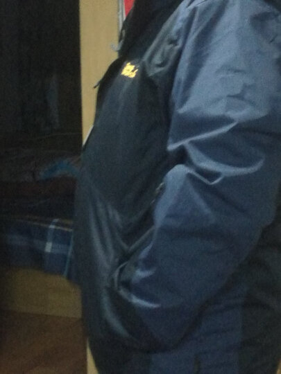 耐优冲锋衣三合一男女情侣款防风防水透气保暖登山服可脱卸两件套冲锋裤套装 男大红+黑裤 2XL 晒单图