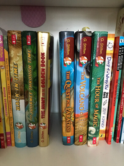 Geronimo Stilton Special Edition:The Hunt For The Curious Cheese 进口故事书 晒单图