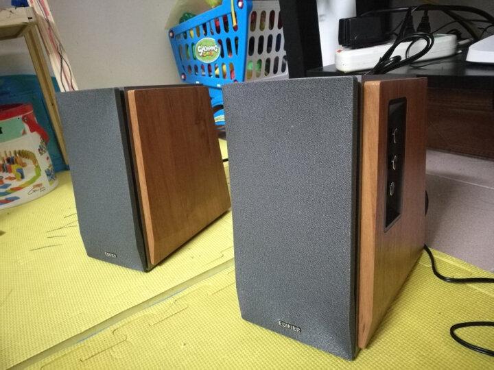 Edifier/漫步者 R1600TIII多媒体笔记本音箱2.0木质低音可调音响 胡桃木纹 晒单图