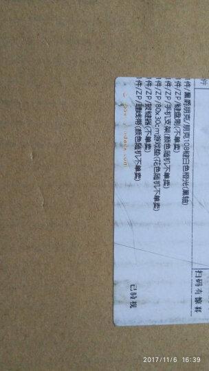 黑爵(AJAZZ) AK33i 朋克游戏机械键盘 有线青轴黑轴108键复古圆形键帽键盘无冲 朋克108键白色橙光(黑轴) 晒单图