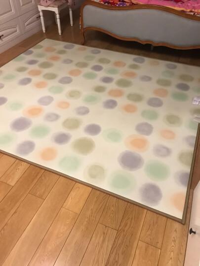 丰盈和暖碳晶电加热地毯 冬季瑜伽电热地暖垫取暖毯 卧室电暖器地暖毯 韩国电热地毯地热垫180*100 LG0971 晒单图