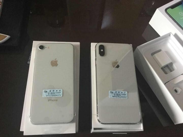 【华东爽购】Apple iPhone X (A1865) 64GB 银色 移动联通电信4G手机 晒单图