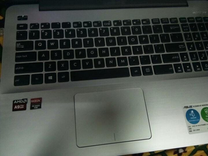华硕(ASUS)超薄笔记本电脑轻薄便携A555固态独显手提办公电脑 暗蓝色A555BP/E2-9010 8G内存+256G固态+500G硬盘定制 晒单图