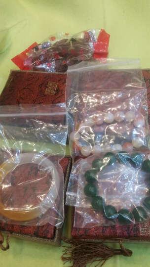 新疆和田金丝玉手镯 天然糖白戈壁黄玉女款玉镯子宽窄版白玉手镯 内径60-61mm 晒单图