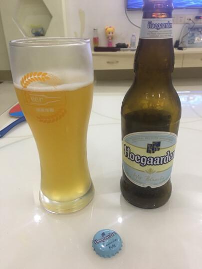 福佳(Hoegaarden) 比利时风味精酿啤酒 福佳白啤酒 330ml*24支整箱 晒单图