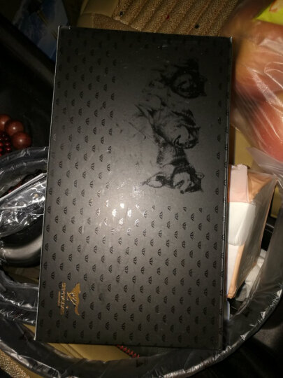 七匹狼(SEPTWOLVES)腰带礼盒 头层牛皮自动扣腰带+头层牛皮长款钱包套装 L9435 黑色 晒单图