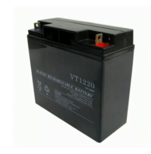 12v20ah 家用蓄电池太阳能系统专用免维护铅酸蓄电池夜市摆摊照明 晒单图