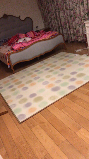 丰盈和暖碳晶电加热地毯 冬季瑜伽电热地暖垫取暖毯 卧室电暖器地暖毯 韩国电热地毯地热垫180*100 LG0981 晒单图