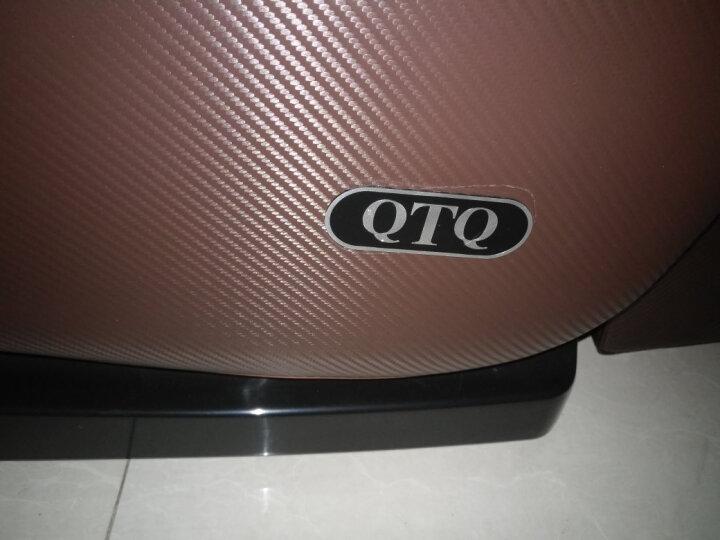【英国品牌】QTQ 按摩椅太空舱豪华零重力全身家用多功能全自动按摩沙发Q8 升级版棕色613 晒单图
