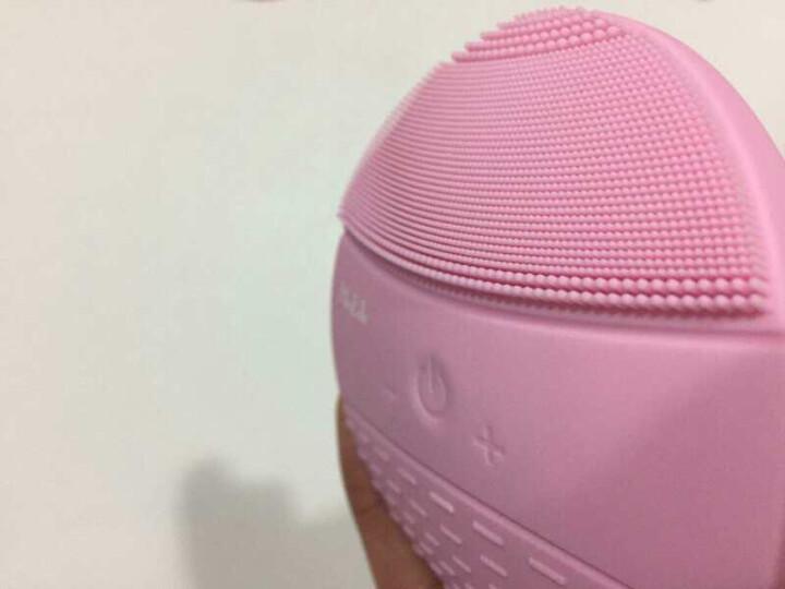 BlingBelle德国贝尔二代无线充电电动硅胶洁面仪男女毛孔清洁器贝儿刷洗脸仪脸部美容仪器 粉红色 晒单图