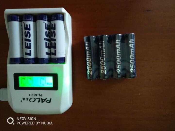 星威(PALO) 充电电池5号7号电池充电器套装 液晶智能快速充电器可充麦克风话筒五号电池七号通用 4节5号2600+4节7号900+充电器 晒单图