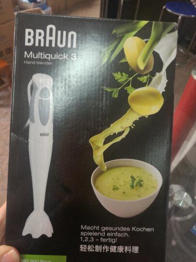 博朗(Braun)料理机 原装进口 家用多功能手持 婴幼儿辅食搅拌机榨汁机料理棒 MQ300 晒单图