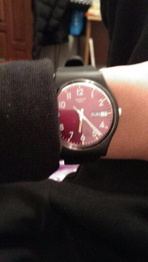 斯沃琪(Swatch)瑞士手表 原创系列绅士红 运动 学生情侣 石英男女士表GB753 晒单图
