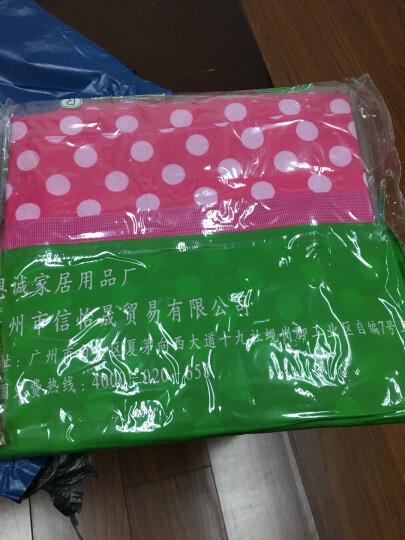 恩诚 加大加厚搬家袋子棉被收纳袋耐磨托运打包袋防水牛津布行李袋 双层酒红点 双层加大号(59*40*60) 晒单图
