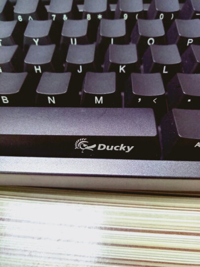 AKKO Ducky Zero 3108 樱桃轴机械键盘 108键原厂cherry轴 PBT侧刻 黑色 黑轴 游戏键盘 有线键盘 晒单图