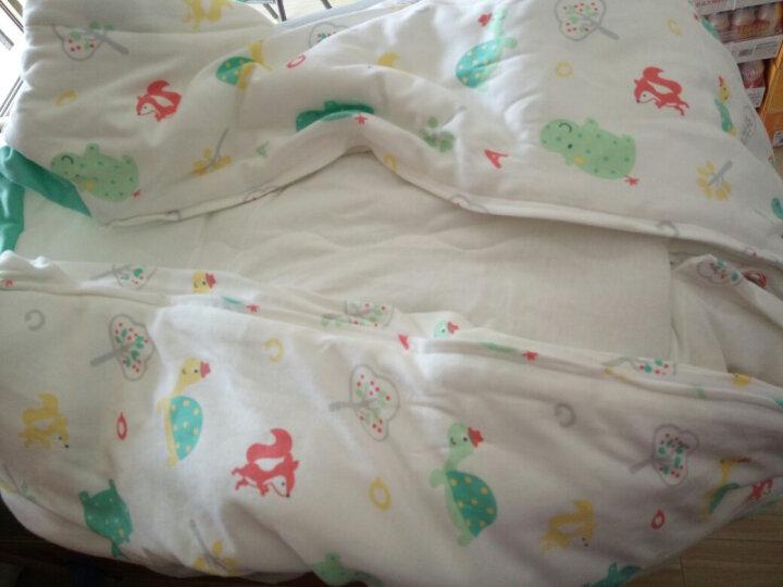 奇舒棉 婴儿睡袋宝宝睡袋彩棉睡袋纯棉睡袋婴幼儿分腿睡袋精梳棉秋冬季宝宝防踢被睡袋秋冬加厚款 棕色彩棉 90码 建议(2-4岁) 晒单图