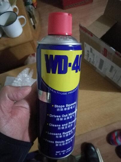 WD-40 防锈剂除锈剂润滑剂 wd-40润滑脂除尘剂清洁门窗锁润滑剂 400ML一瓶 晒单图