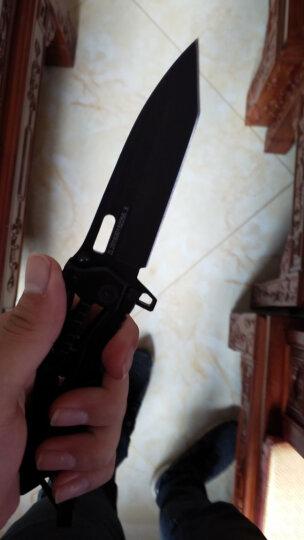 户外刀具折叠刀军刀小刀高硬度户外刀野营刀折刀防身 机械黑 晒单图
