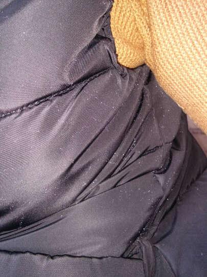 娇思哲时尚皮马甲女2018秋季新款韩版女装修身无袖百搭两面穿潮 焦糖 M 晒单图