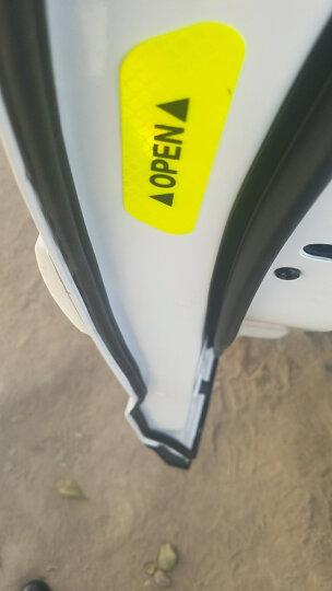 3M 钻石级强反光荧光橙色车门反光贴 4片装 汽车车门开门安全警示贴 车贴装饰条 晒单图