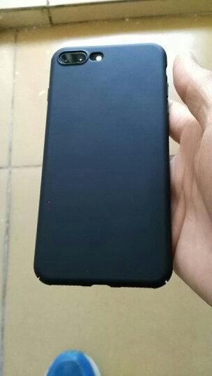 蒙奇奇 iPhone7/8手机壳苹果8plus/7p手机套超薄防摔磨砂全包保护壳 5.5英寸星空黑 全包保护 晒单图