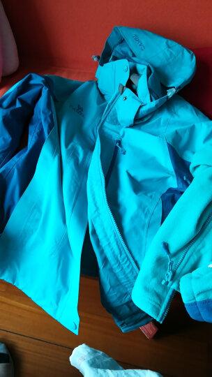 骆驼CAMEL 户外冲锋衣 男女士情侣款防风透气保暖三合一冲锋衣 A4W117009 海棠红女款 L 晒单图