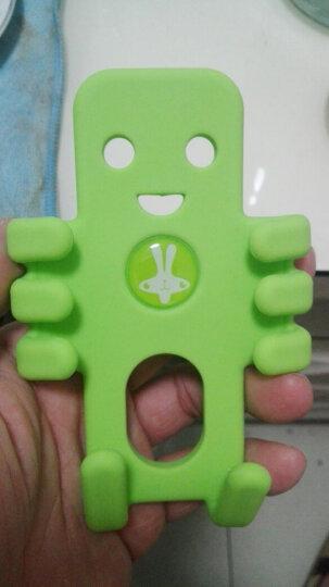 轩之梦汽车车载手机支架GPS导航仪架手机架夹汽车用品 绿色中号 晒单图