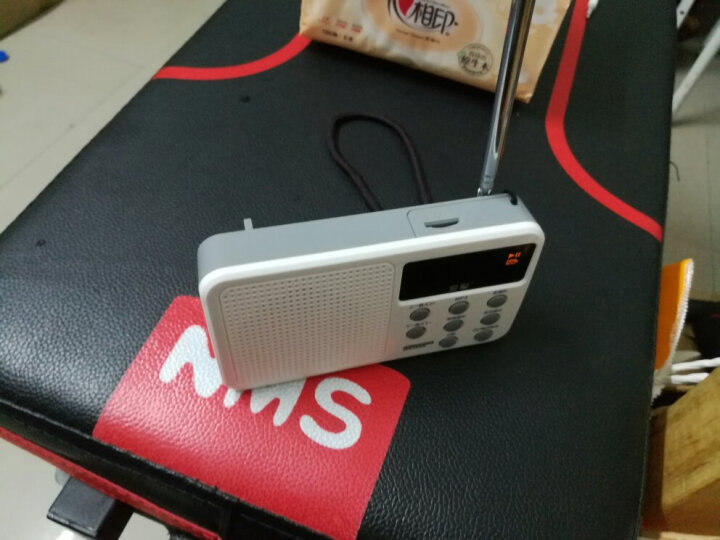 索爱(soaiy)S-91中老年人收音机便携小音箱迷你插卡音响MP3播放器随身听 丁香紫 晒单图