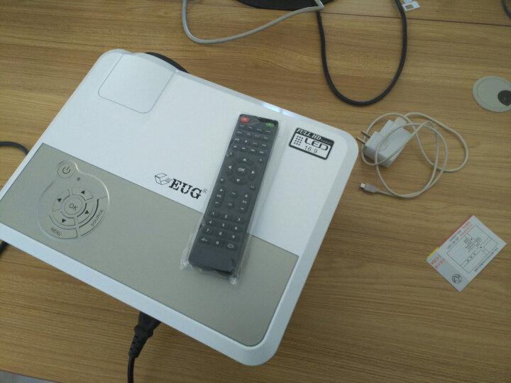 EUG X760+投影仪家用 微型投影机高清智能无线 支持1080P 3d家庭影院无屏电视 标配版 晒单图