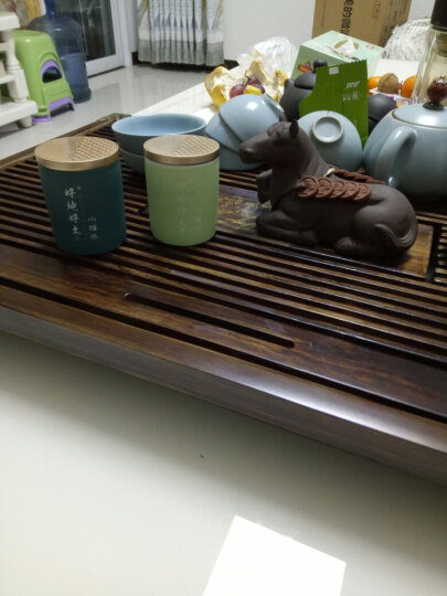 好地好土15年陈年老铁浓香型铁观音乌龙茶 碳培铁观音柴烧熟茶叶 H(老铁小罐)216g 晒单图