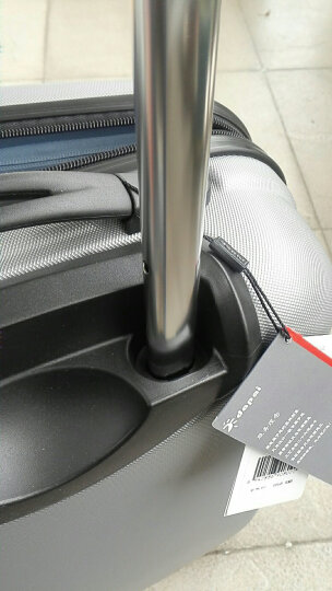 达派dapai拉杆箱行李箱男女海关锁旅行箱休闲万向轮pc密码箱托运箱登机箱商务出差大容量 黑色 28寸 晒单图