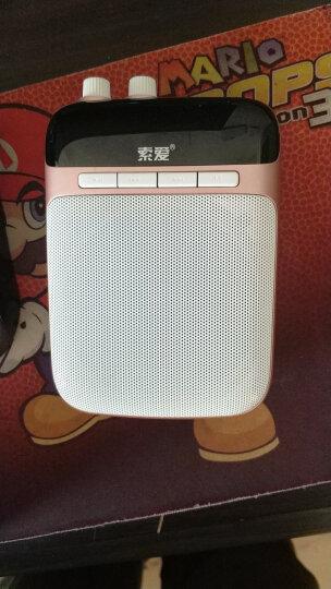 索爱(soaiy)S-718 无线便携数码扩音器 2.4G大功率小蜜蜂扩音器 教师教学专用扩音机 导游腰挂喇叭  睿智黑 晒单图
