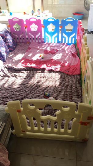 哈皮熊儿童婴儿围栏游戏爬行垫宝宝围栏学步护栏 升级款8+1+1送海洋球50+收纳筐 晒单图