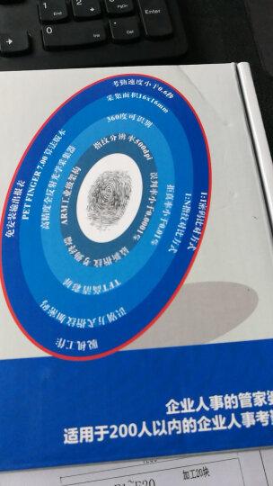 睿者易通(WITEASY)F-7BS 人脸指纹识别网络考勤机异地广域网通讯 云考勤管理 手机APP查询 晒单图