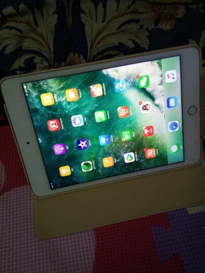 zoyu 苹果iPad mini4保护套 7.9英寸迷你4平板电脑卡通彩绘皮套休眠唤醒 浅唱小鲸 晒单图